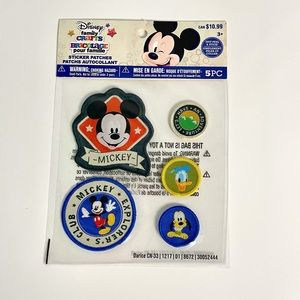 Disney Mickey Mouse Sticker Patches Pack - Unopened